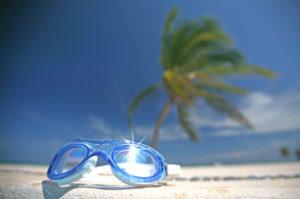 Schwimbrille beschlägt