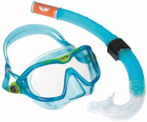 Aqua Lung Sport Kinder-Schnorchel-Set auf weissem Grund